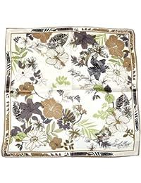 Nella-Mode CHIC & ELEGANT: NICKITUCH, Tuch, Halstuch Seidentuch in bezauberndem floralen Design; 53x53 cm, 100% Seide