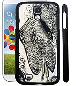 ColourCraft Butterfly Art Design Back Case Cover for SAMSUNG GALAXY S4 I9500 / I9505