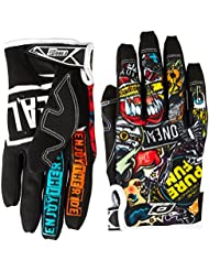 O'Neal Jump CRANK MX DH Moto Cross Handschuhe Downhill Mountain Bike Glove, 0385JC-1, Gr. US/EU: L/9 (Medium)