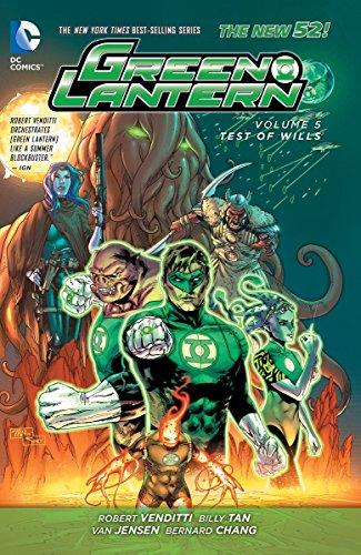 Green Lantern: Volume 5: Test of Wills HC (The New 52)