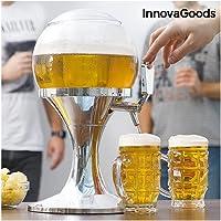 InnovaGoods Ball Tireuse à bière réfrigérante en PMMA Argenté 24 x 24 x 42 cm