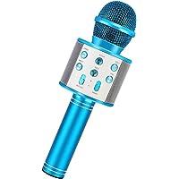 RXYYOS Microfono Karaoke Wireless Microfoni Bluetooth Bambini Karaoke Player Multifunzione Microfono con Altoparlante…