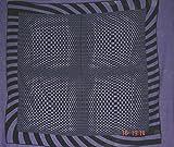 Tagesdecke Vision-3 violett Wandbehang 200 x 240 cm psychedelische Optik