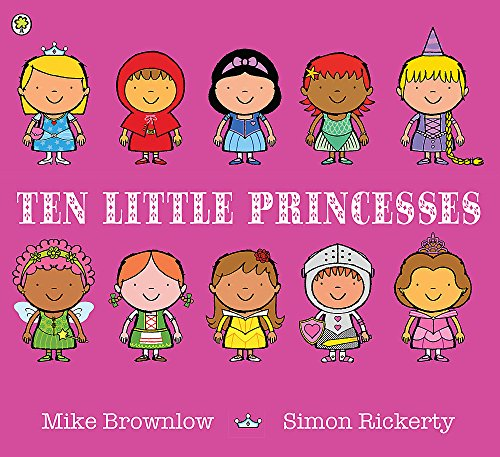Ten Little Princesses por Mike Brownlow