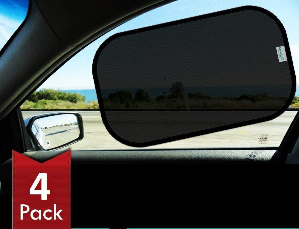 - Best Car Shades Blocks over 97/% of Harmful UV Rays- Protection for Your Kids Pets Best Universal Auto Accessories for Side Window 2 pack Car Sun Shades for Babies