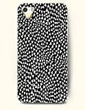 Phone Case For iPhone 5 5S Black And White Triangles - Hard Back Plastic Case / Geometric Pattern / OOFIT Authentic