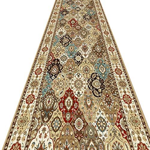 SESO UK- Türkisch Langer Teppich Runner - Alle Längen Teppich Läufer für Hall, Flure, Passage, Flur, Küche (Size : 140×450cm)