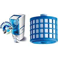 Eureka Forbes Aquasure from Aquaguard Amrit 20-Litre Water Purifier, Blue and Aquasure 1500 litres Cartridge with Auto…