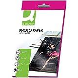 Q Connect 100x150mm 260gsm hoogglans fotopapier (Pack van 25)