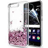 LeYi Case for Huawei P10 with HD Screen Protector, Glitter