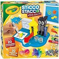 CRAYOLA Sticco Stacco Effetti Speciali Set per Creare Attacchini in Gel, per Gioco e Regalo, 25-7094