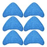 Keepow Mikrofaser-Reinigungspads, Ersatz für Vax Dampfreinigungsmopps S85-CM, S86-SF-CC, S86-SF-C, S7, vergleichbar mit 1-1-131448-00 (Typ 1), 6 Stück