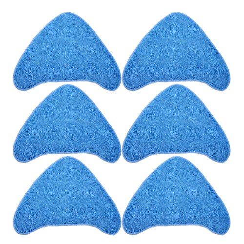Keepow Mikrofaser-Reinigungspads, Ersatz für Vax Dampfreinigungsmopps S85-CM, S86-SF-CC, S86-SF-C, S7, vergleichbar mit 1-1-131448-00 (Typ 1), 6 Stück -