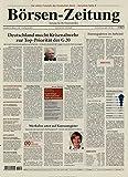 Börsen-Zeitung Monatsultimoausgabe [Jahresabo]