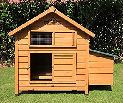 Pets Imperial® Savoy Large Chicken Coop Single Nest Box Suitable For Up to 4 to 6 Birds Depending On Size by Pets Imperial®