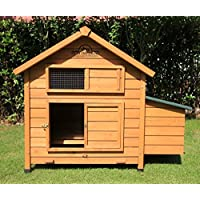 Pets Imperial® Savoy/Marlborough Large Chicken Coop Suitable For up 6 Birds With Single Nest Box - Easy Clean Leaning Tray