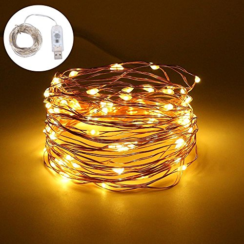 Have An Inquiring Mind 10m 100led Silver Wire String Lights For New Year Christmas Home Wedding Decoration Fairy Garland Waterproof On Battery Powered Lights & Lighting