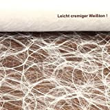 Sizoweb Tischband Weiß 5 Meter lang 30cm breit