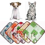 BOBOLover 40 * 60Cm Mascota Caliente Calor Eléctrico Calienta Calefacción Calentador Cojín Mat Manta Cama Perro