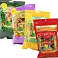 Gourmet Nutriberries Complete Parrot Food - 4 Flavours - Sunny Orchard - El Paso - Garden Veggie - Tropical Fruit | Macaw | African Grey | Amazon | Cockatoo | Senegal | Caiques | Bird food Pack of 4 by Lafeber