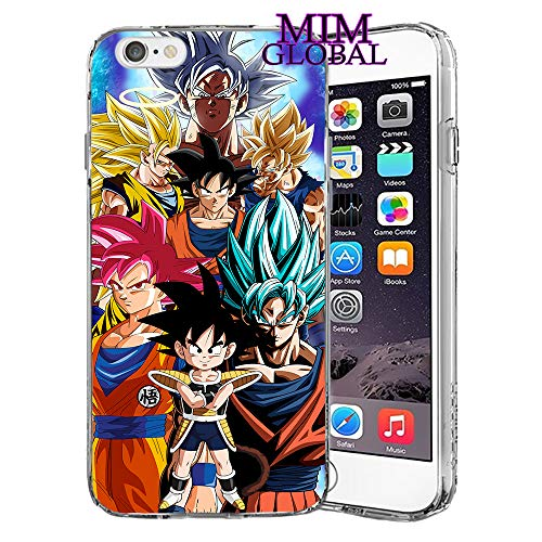 best cheap b9a83 fb158 MIM Global Dragon Ball Z Super GT Case Cover Compatible For All iPhone  (iPhone 7 Plus/8 Plus, Kakarot)