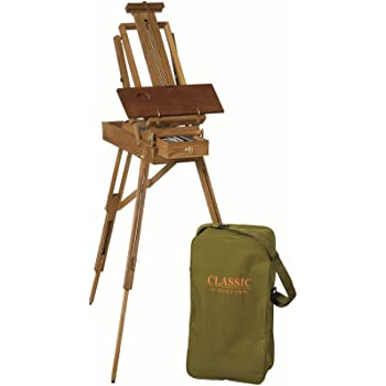 Classic Half Size Lightweight Sketch Box Easel by Jullian.