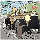 Tim und Struppi 2018 Kalender Deutsche Edition 30 x 30 cm - Tintin in the Land of the Soviets - Calendar Wandkalender