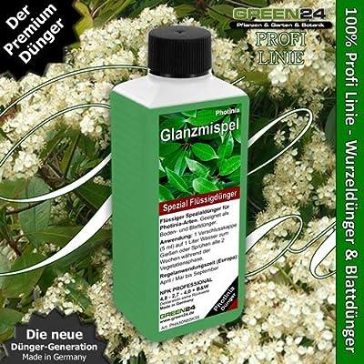 Photinia-Dünger HIGH-TECH Pflanzen Dünger für Glanzmispel Lorbeermispel Photinien von GREEN24 auf Du und dein Garten