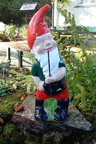 Angeln Gnome ~ Albert ~ großer stehender Fisherman