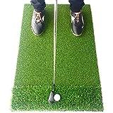 Motivo Golf StrokeSaver Dual-Turf Golf Hitting Mat by Motivo Golf