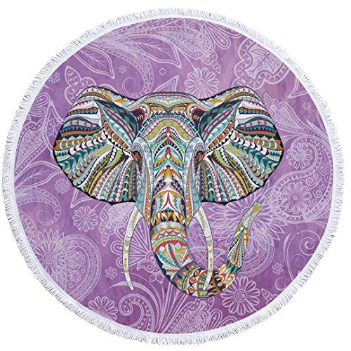 Stillshine Mandala Toalla de Playa Redonda Microfibra Tapiz Colgante de Pared Esterilla...