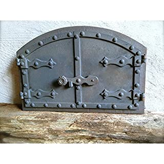 Antikas –  – Bread Oven Stone oven door Cast Iron Pizza Oven – Hochwertge – Door