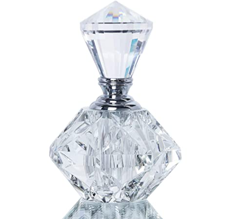 H&D Vintage Clear Crystal Empty