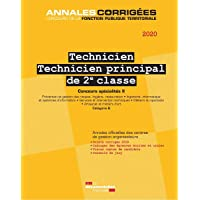 Technicien, Technicien principal de 2e classe Concours spécialités 2