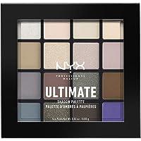 NYX Professional Makeup, Palette Ombretti Ultimate Shadow,Pigmenti Pressati, 16 Tonalità, Effetto Opaco, Satinato…