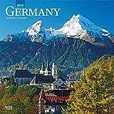Germany - Deutschland 2019 - 18-Monatskalender mit freier TravelDays-App (Wall-Kalender)