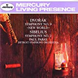 "Dvorák: Symphony No. 9 ""From the New World""/Sibelius: Symphony No. 2"