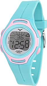 Orologio da polso per bambini, orologio da polso al quarzo, da donna, impermeabile, per bambini