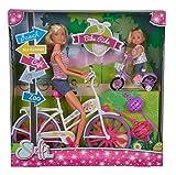 Simba 105733045 - Steffi Love Bike Ride Puppe