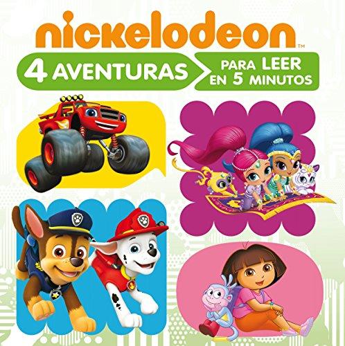4 aventuras Nickelodeon para leer en 5 minutos
