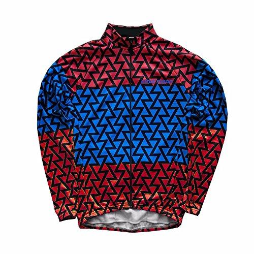 UGLYFROG #18 2018 Radsport Trikots Lange Ärmel Sport & Freizeit Shirts Frühjahr-Herbst Style (Herren Harley Davidson Armband)