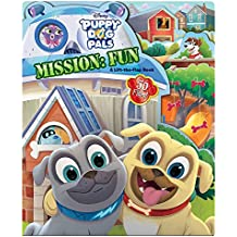 Puppy Dog Pals Mission: Fun: A Lift-The-Flap Book (Lift-And-Seek)