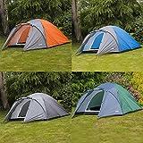 Adtrek Double Skin Dome 4 Man Berth Camping...