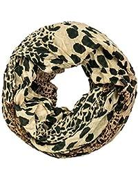 Gadzo Loop schal leopard Muster Look Schlauchschal Rundschal LoopL