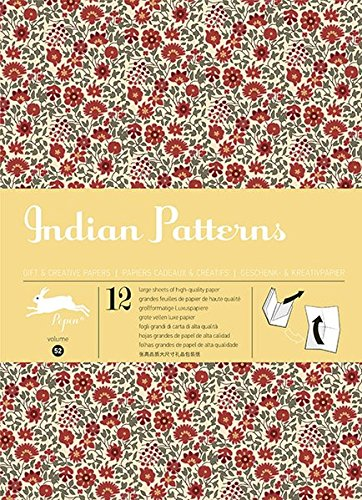 Indian Patterns: gift and creative paper book Vol.52 (Gift wrapping paper book (52))