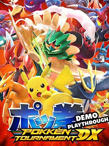 Clip: Pokken Tournament DX Demo Playthrough [OV]