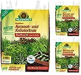 GARDOPIA Sparpaket: 3 x 10 Liter Neudorf NeudoHum Aussaat- und KräuterErde torffrei