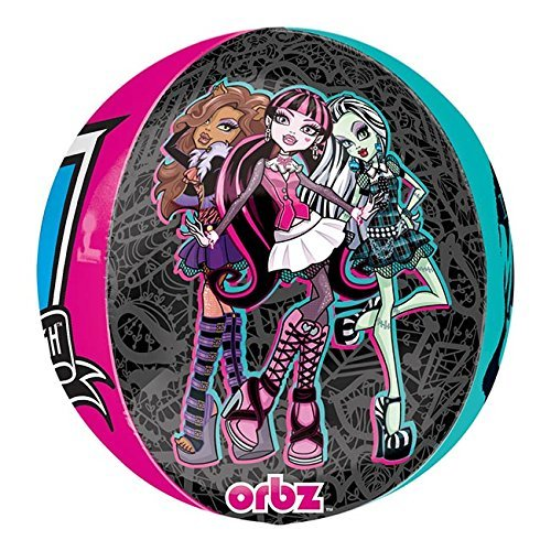 Monster High 2 Folienballon, 38x40 cm