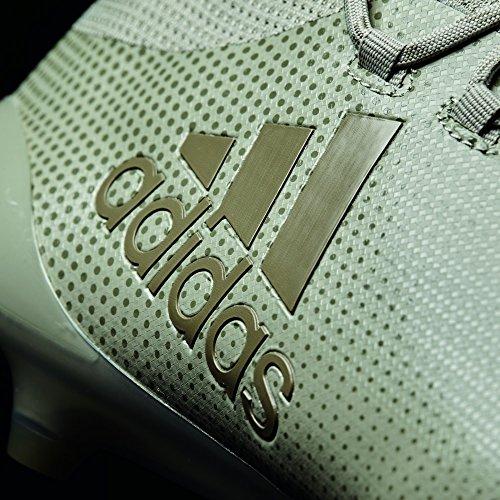 adidas X 17.1 Fg, Chaussures de Football Homme, 44.5 EU Multicolore (Sesamo / Arcill / Arcill)
