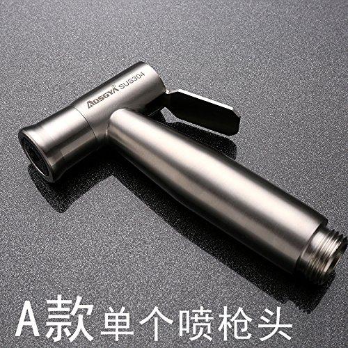 GFEI acier inoxydable 304 / toilettes pistolet sous pression à / femmes à tirer la chasse au pistolet, la perforation libre,d'un seul 304